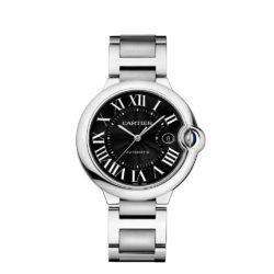 Cartier Ballon Bleu De Cartier Black Dial Stainless Steel Watch W6920042