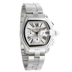 Cartier Roadster Chronograph Mens Watch W62019X6