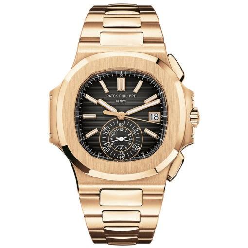 Patek Philippe 5980/1R-001 Nautilus Men's Rose Gold Watch