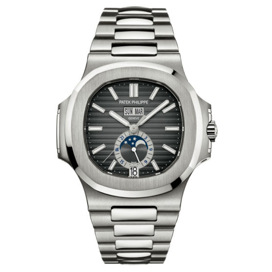 Patek Philippe Watches Nautilus Mens Stainless Steel 5726A-001
