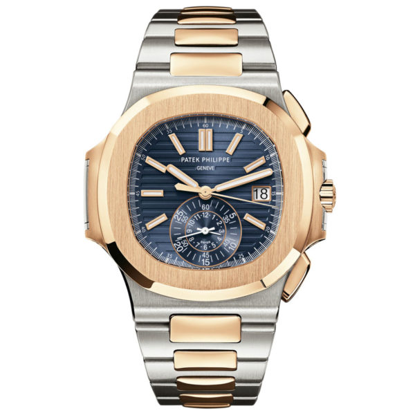 patek philippe watches nautilus mens steel and gold 5980