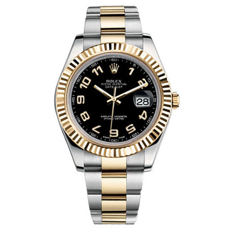 9755e251252 Rolex Datejust II Two-tone Oyster Bracelet Mens Watch 116333BKAO for sale |  Mio Watches & Jewelry