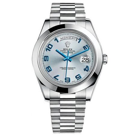 Rolex-Day-Date-II-Blue-Arabic-Dial-Platinum-Case-Automatic-Mens-Watch1