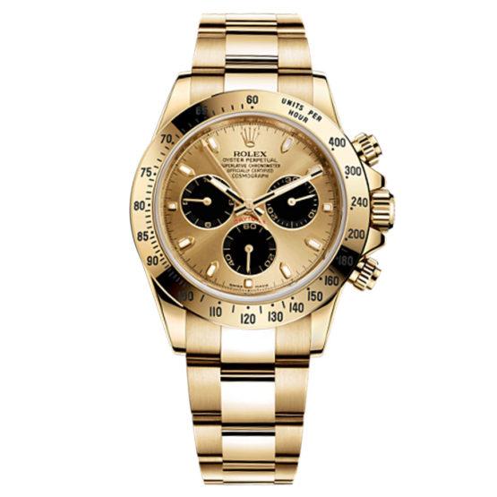 Rolex Cosmograph Daytona Champagne Paul Newman Dial 18kt Yellow Gold Men's Watch 116528PN