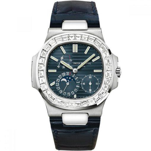 Patek Philippe Watches - Nautilus Mens White Gold 5722G-001