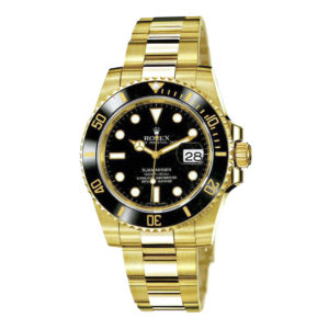 rolex-oyster-perpetual-submariner-date-or-jaune-116618-ln