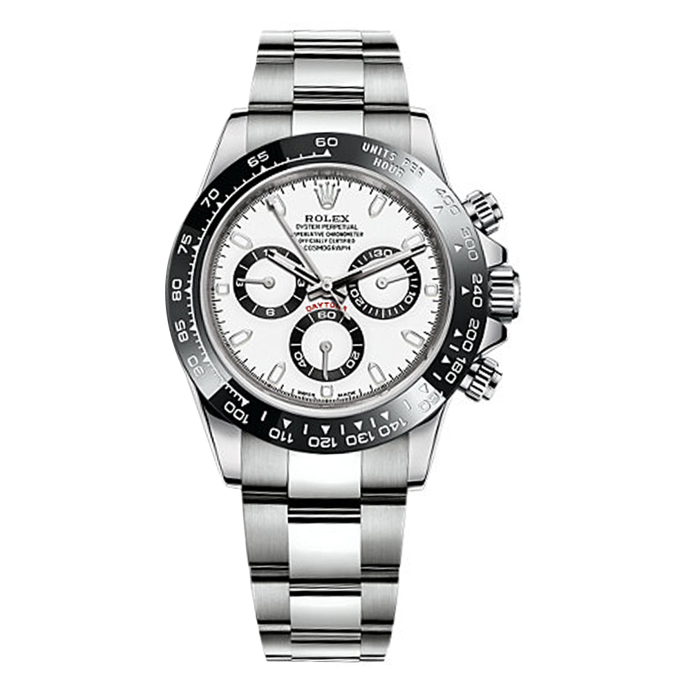 Rolex Cosmograph Daytona White Dial Stainless Steel Oyster Men S