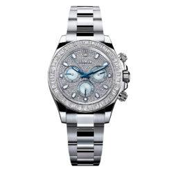 Rolex Cosmograph Daytona Diamond Pave Dial Platinum Watch 116576TBR