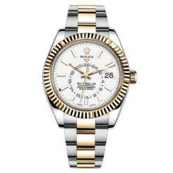 Rolex Sky-Dweller 326933 White Index 42mm Mens Watch