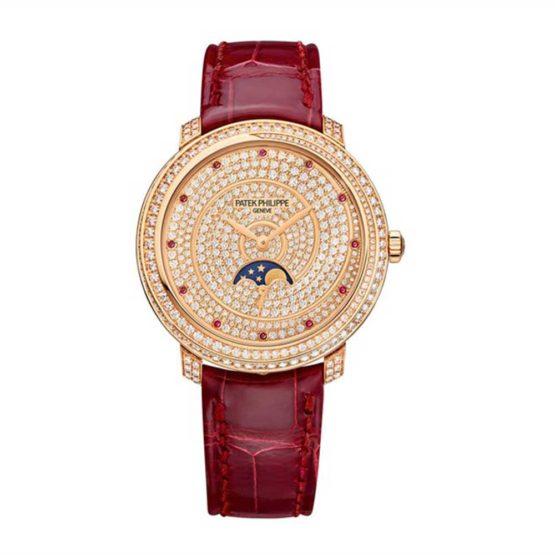 Patek Philippe Rose Gold Ladies Complications 4968/400R-001