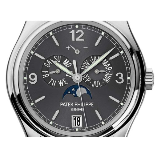 Patek Philippe Complicated Mechanical Slate Grey Dial Mens Watch 5146/1G-010