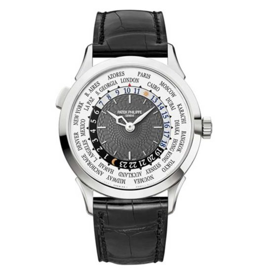Patek Philippe Complications 18K White Gold Automatic Mens Watch 5230G-001