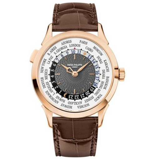 Patek Philippe Complications Automatic World Time Gold Men's Watch 5230R