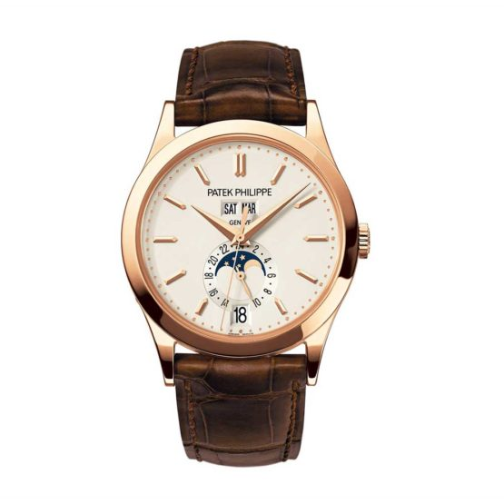 Patek Philippe Complications Annual Calendal 18kt Rose Gold Automatic Mens Watch 5396R-011