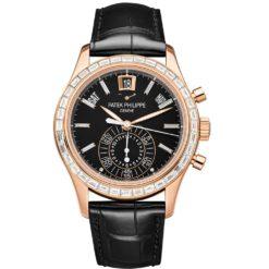 Patek Philippe 5961R-010 Complications Chronograph Annual Calendar Automatic Gold Diamond Men's Watch
