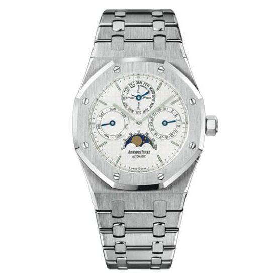 Audemars Piguet Oak Perpetual Calendar Stainless Steel Watch 25820ST.OO.0944ST.03