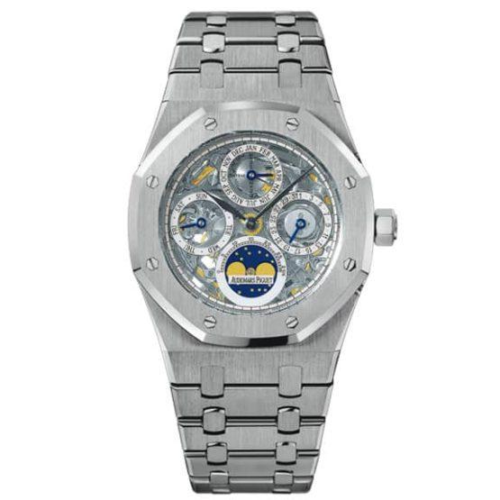 Audemars Piguet Royal Oak Perpetual Calendar Platinum Watch 25829PT.OO.0944PT.01