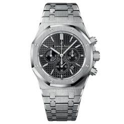 Audemars Piguet Royal Oak Chronograph Black Dial 41mm Stainless Steel Watch 26320ST.OO.1220ST.01