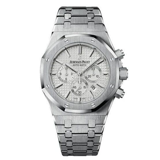 Audemars Piguet Royal Oak Chronograph Silver-toned Dial 41mm Stainless Steel Watch 26320ST.OO.1220ST.02