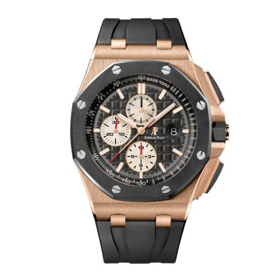 Audemars Piguet Royal Oak Offshore Black Dial Mens Watch 26401.RO.OO.A002.CA.01