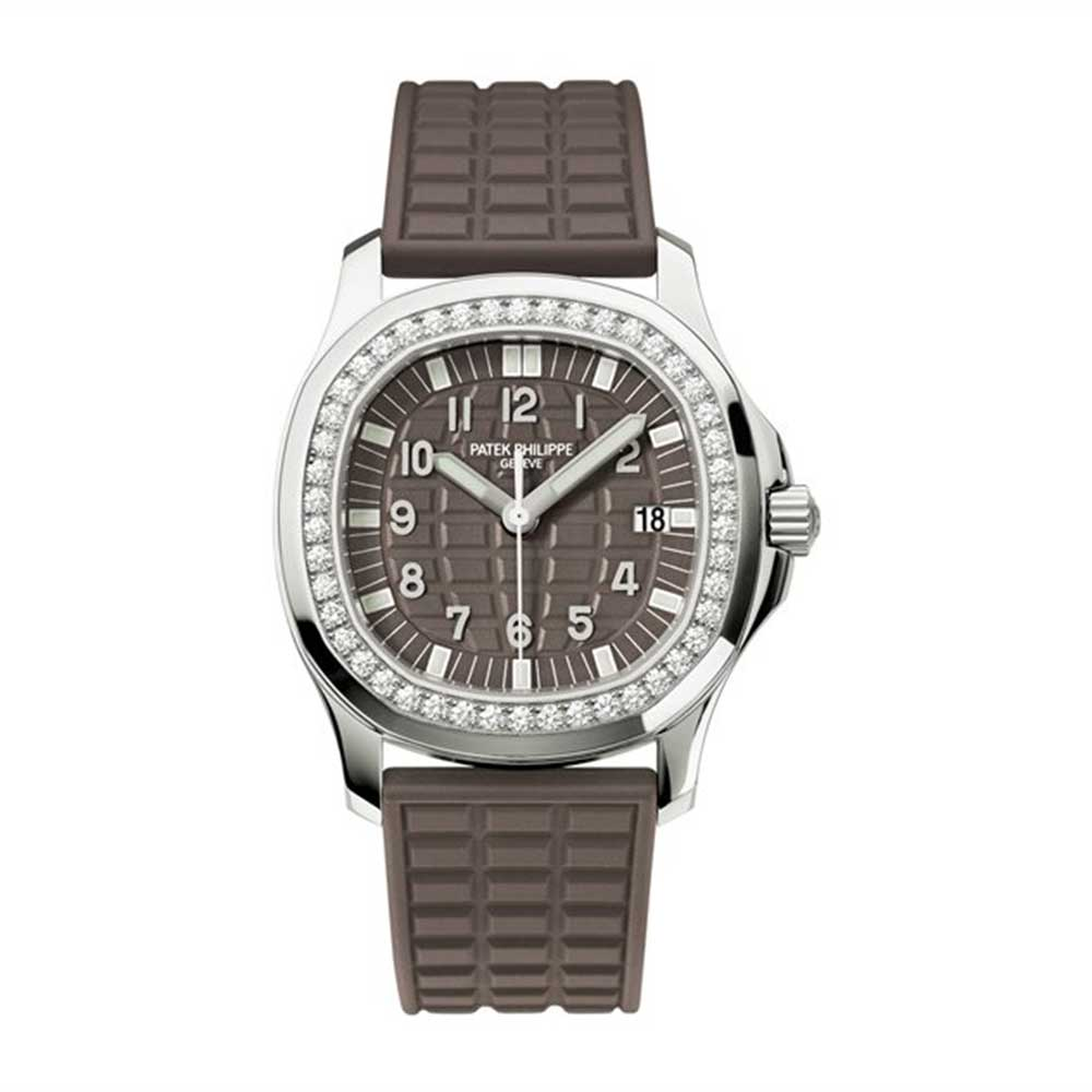 126c0a84eb4 Patek Philippe Aquanaut Stainless Steel With Diamonds Brown Quartz  5067A-023 for sale | Mio Watches & Jewelry
