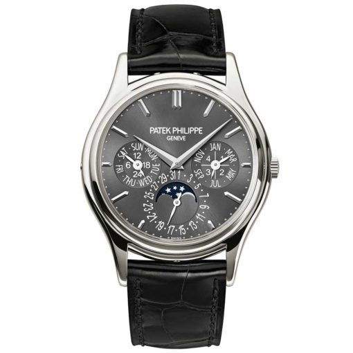 Patek Philippe Grand Complication Grey Dial Mens Platinum Watch 5320G-017