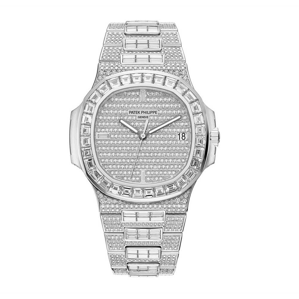 5c47db35de5 Patek Philippe Nautilus 18K White Gold Men`S Watch With Diamonds  5719/10G-010 for sale | Mio Watches & Jewelry