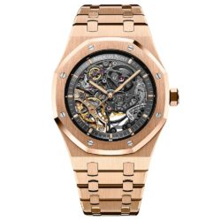 Audemars Piguet Royal Oak Double Balance Wheel Openworked 15407OR.OO.1220OR.01 Rose Gold Watch