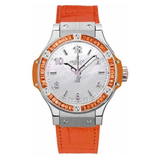 Hublot Big Bang Quartz 38mm Ladies Watch 361.so.6010.lr.1906 ORANGE