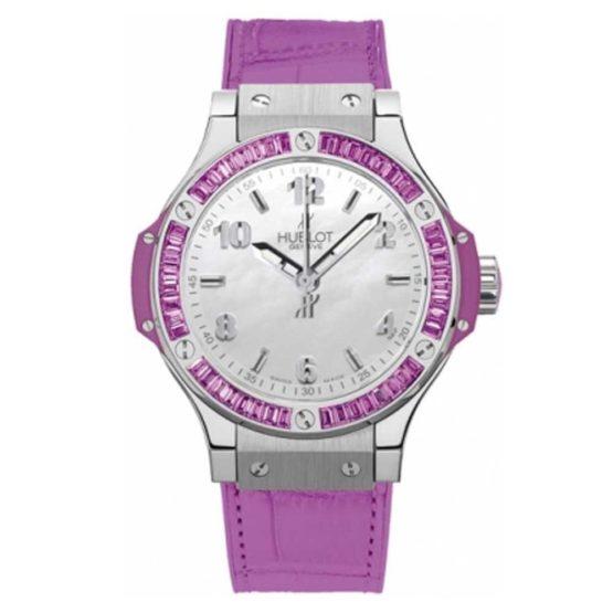 HublotBig Bang Quartz 38mm Ladies Watch361.sv.6010.lr.1905 Purple