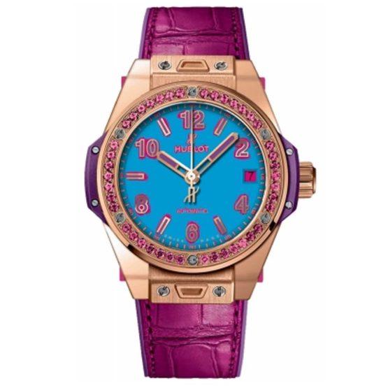 Hublot Big Bang One Click 39mm Ladies Watch 465.op.5189.lr.1233.pop16 ROSE