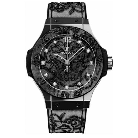 Hublot Big Bang Broderie 41mm Midsize Watch 343.SS.6570.NR.BSK16