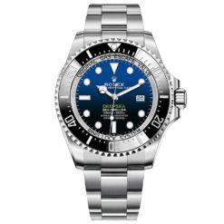 Rolex 126660 Sea Dweller DEEPSEA Blue Dial Oyster Bracelet Stainless Steel Men's Watch