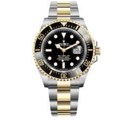 Rolex 126603 Sea-Dweller Two-tone Black Dial