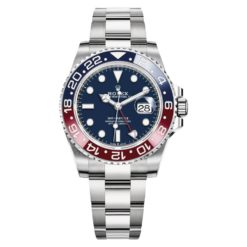 Rolex 126719BLRO GMT Master II Blue Dial Men's Watch