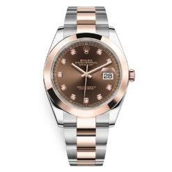 Rolex Datejust 126301 Chocolate Diamond Oyster