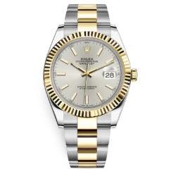 Rolex Datejust 126333 Silver Index Oyster