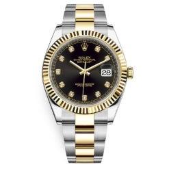 Rolex Datejust 126333 Black Diamond Oyster