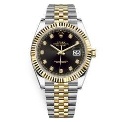 Rolex Datejust 126333 Black Diamond Jubilee
