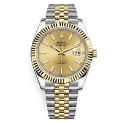 Rolex Datejust 126333 Champagne Index Jubilee