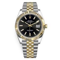 Rolex Datejust 126333 Black Index Jubilee