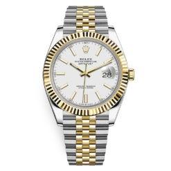 Rolex Datejust 126333 White Index Jubilee