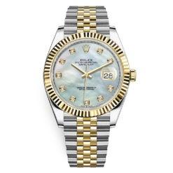 Rolex Datejust 126333 White MOP Diamond Jubilee