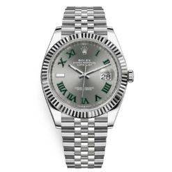Rolex Datejust 126334 Slate Roman Jubilee 41mm Stainless Steel Mens Watch