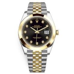 Rolex Datejust 126303 Black Diamond Jubilee