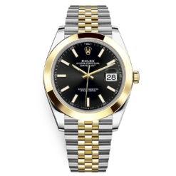 Rolex Datejust 126303 Black Index Jubilee