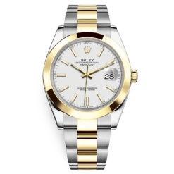 Rolex Datejust 41mm 126303 White Index Oyster