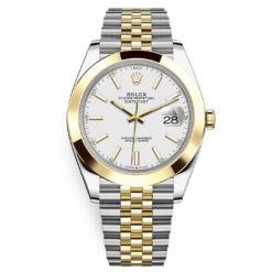 Rolex Datejust 126303 White Index Jubilee