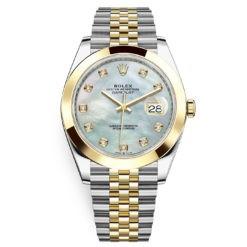 Rolex Datejust 126303 White MOP Diamond Jubilee