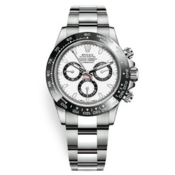 Rolex Cosmograph Daytona 116500LN White Dial Stainless Steel Mens Watch
